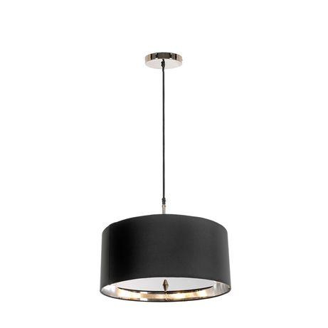 цоколь E27, мощность 60, количество ламп 3, цвет полированный никель