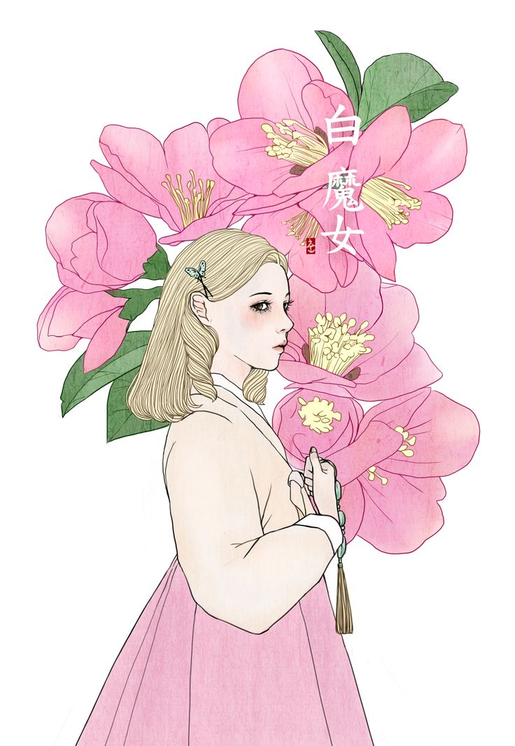 wicked in hanbok (glinda)