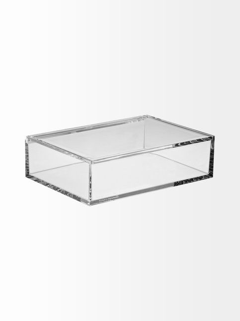 Nomess Copenhagen – Clear Box Medium -kannellinen säilytyslaatikko