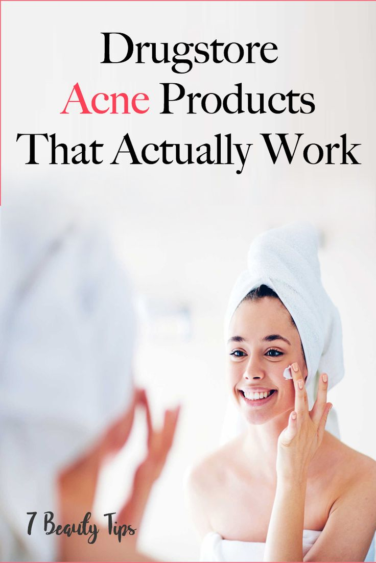 Drugstore Acne Products That Actually Work