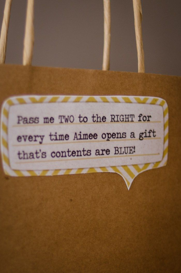 recipe themed bridal shower invitation wording%0A What a fun game to keep everyone involved in a gift opening