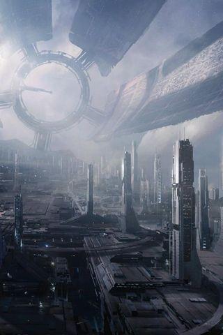 Future Futuristic City - Android Wallpaper