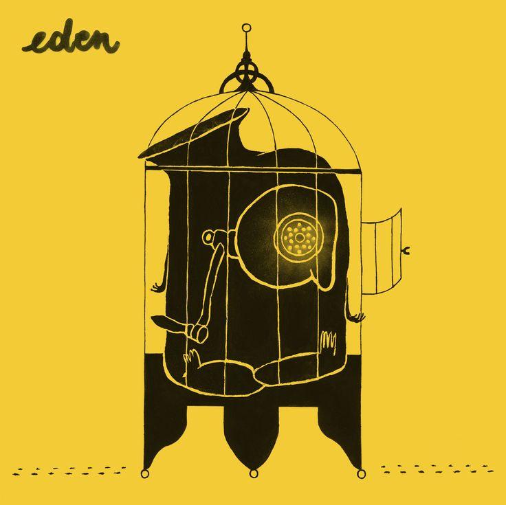 Cover for Ampacity's album 'Eden' - vinyl