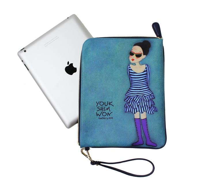 #ipad case / pouch / clutch YoukShimWon's dodo clutch - Sunglasses Nani