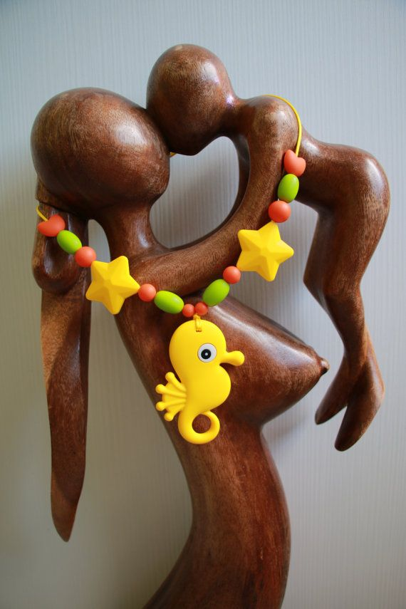 Collana Allattamento Dentizione Babywearing di MagiadelleMamme