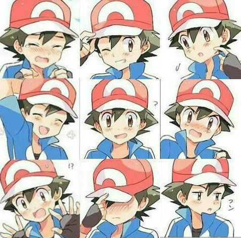 Ash's many faces