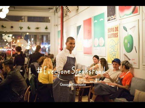 Un restaurant Google Translate qui célèbre la mixité culturelle