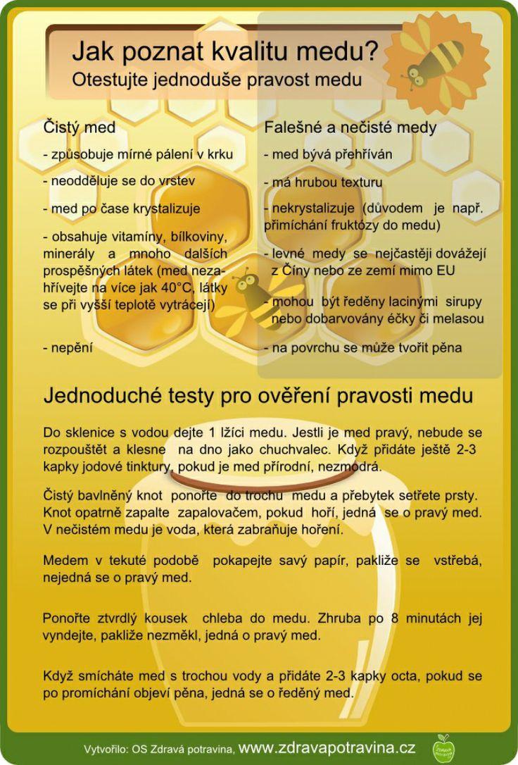 Jak poznat kvalitu medu?