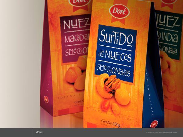 Packaging para Doré by Carlos A. Rivera, via Behance