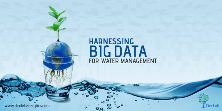 Harnessing #BigData for Water Management