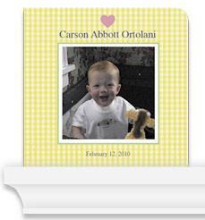 Personalized Baby/Family Member Photo Board Book  from Pint Size Productions