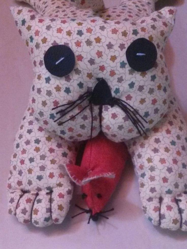 Gatitos de tela, suavecitos y esponjosos