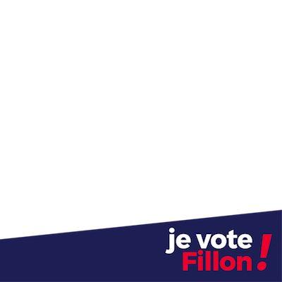 Je vote Fillon - Support Campaign | Twibbon