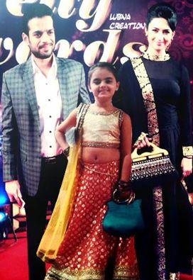 Divyanka , Ruhaanika n Raman in telly awards