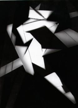 Markus Amm, Untitled, 1999, Photogram on fiber based paper- 24 x 18 cm