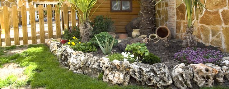Jardines decorativos con piedras jardines de piedra for Arbustos decorativos para jardin