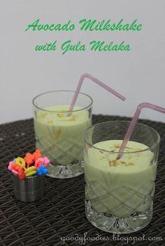 Recipe: Gula melaka avocado milkshake/juice