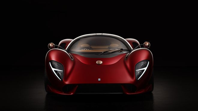 ICYMI: De Tomaso's Flamboyant New Hypercar Is a Futuristic Tribute to the Marque's Past Pagani Zonda, Bugatti, Racing Car Design, Dual Clutch Transmission, Carroll Shelby, Pebble Beach Concours, Goodwood Festival Of Speed, Flamboyant, Ford Gt