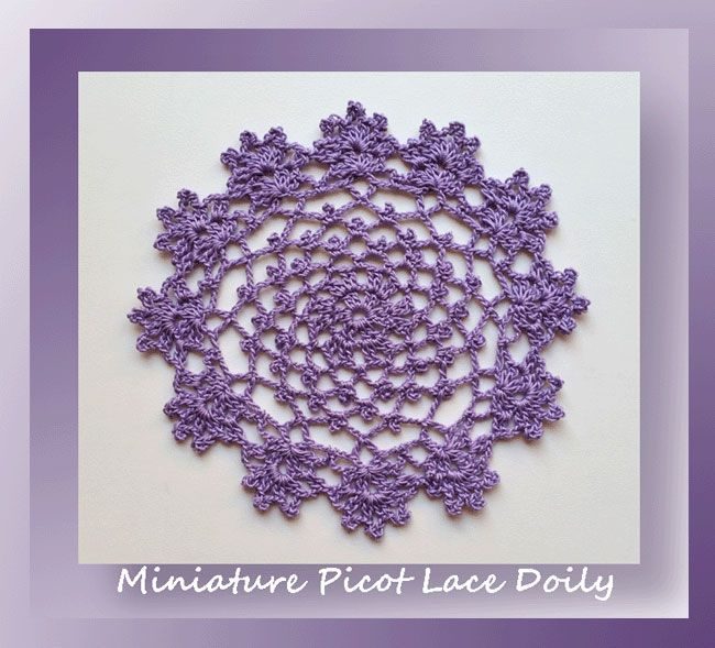 Free Crochet Patterns For Mini Doilies : 17 Best images about Broomstick Lace Crochet on Pinterest ...
