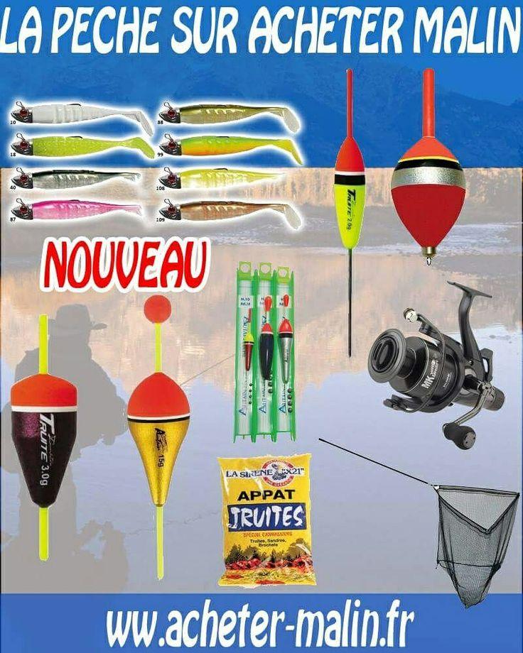 Cannes, moulinets et accessoires de pêche débarquent sur Acheter Malin  #peche #moulinet #leurre #truite #carpe #carnassier #brochet #achetermalin  www.acheter-malin.fr