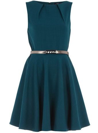 Cute for a bridesmaid's dress. Maybe with a different belt.