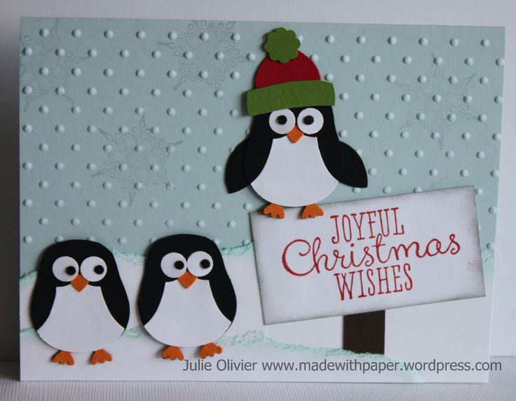 49 best su owl punch penguin images on pinterest christmas cards penguins made with the stampin up owl punch detailed instructions on her website blossom petal builder punch for the wings solutioingenieria Gallery