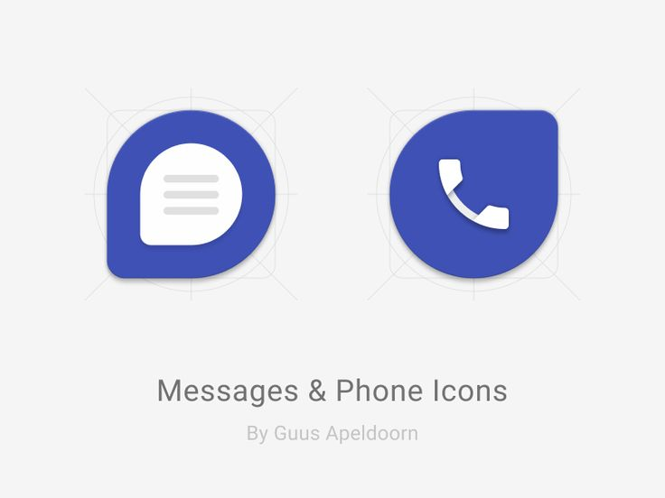 Messages & Phone Icons