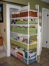 Homestead Survival: Idea Starter: Making Your Storage Rack Moveable