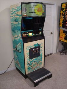 Image result for vintage coin operated arcade game machine