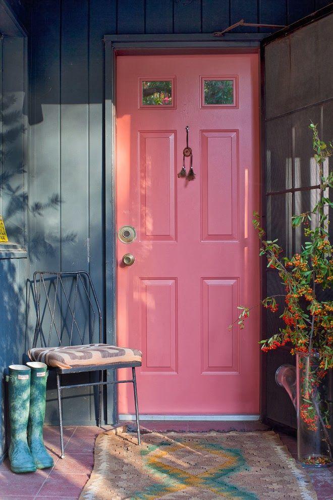 une porte d'entrée originale à Los Angeles