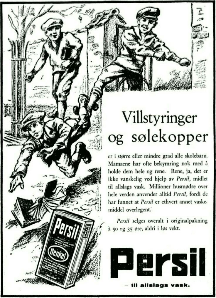 1929 Persil reklame