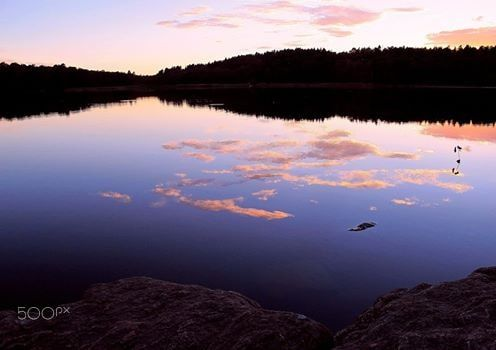 Midnight Sunset At My Lake - Summer In Sweden 2014-2015