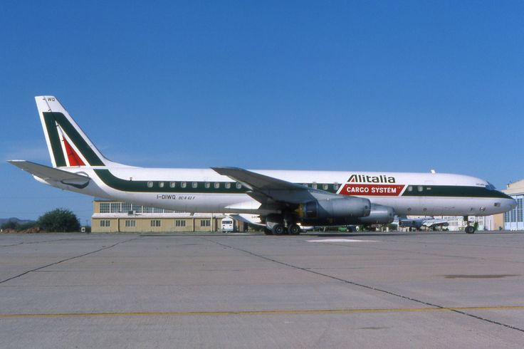Alitalia Cargo System DC8 I-DIWQ - PlaneSpotters Slide-Collections