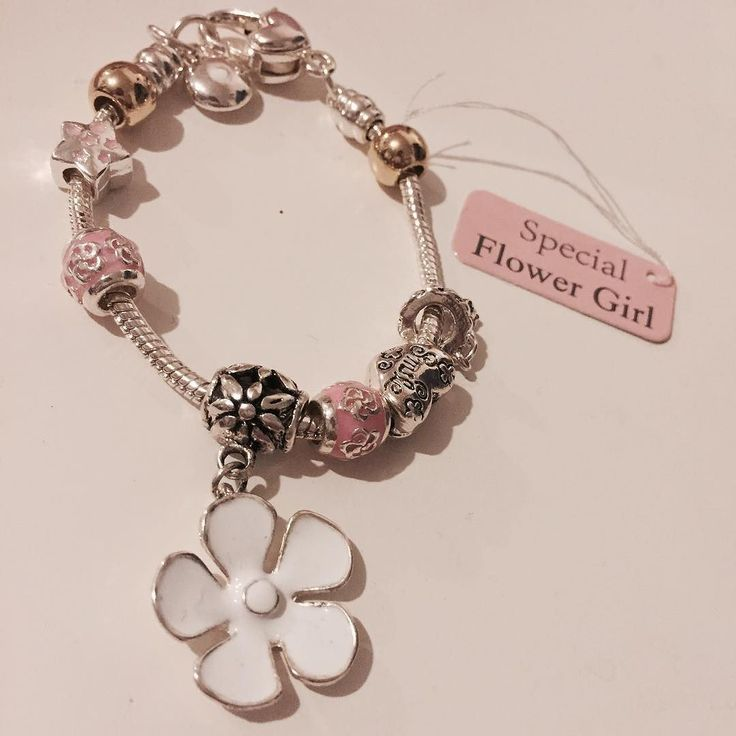 Need a present for your flower girl? Our bracelets are a gorgeous way to say thank you to your little treasures  #wedding #brides #weddinginspiration #weddingday #guestbook #lace #ribbon #diy #vintage #classic #shabbychic #bespoke #unique #individual #crafty #craft #love #personalised #engaged #gettingmarried #newlyengaged #flowergirl #girlpresent #gifts #presents #jewellery #silver #flower #floral
