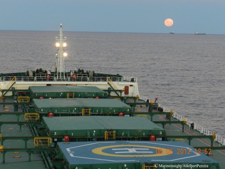 Picture of the Day: Supermoon Phenomenon Captured from a Ship