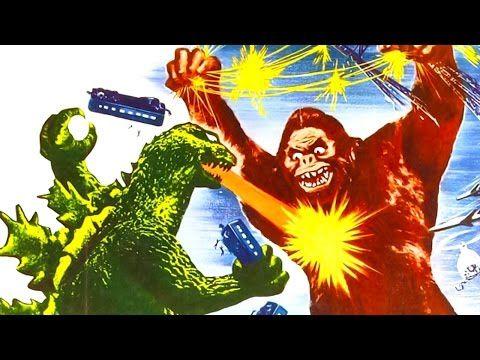 ГОДЗИЛЛА ПРОТИВ КИНГ КОНГА в фильме Кинг Конг против Годзиллы   Ретро-трейлер   Godzilla vs. Kong - YouTube