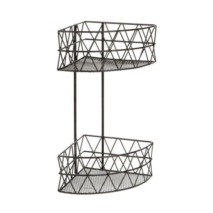 Ben De Lisi Home Designer Black Wire Triangle Two Tier