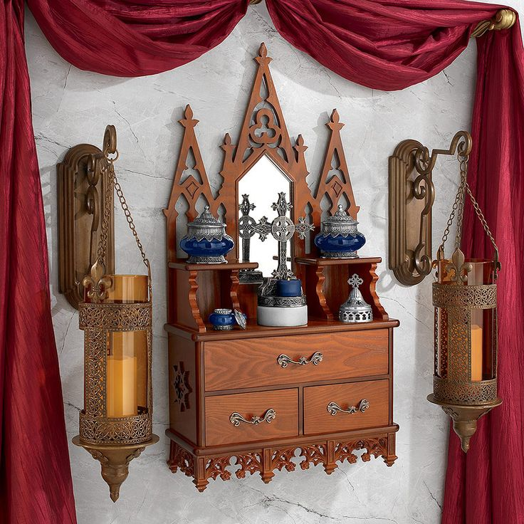 Park Avenue Collection Victorian Medicine Cabinet
