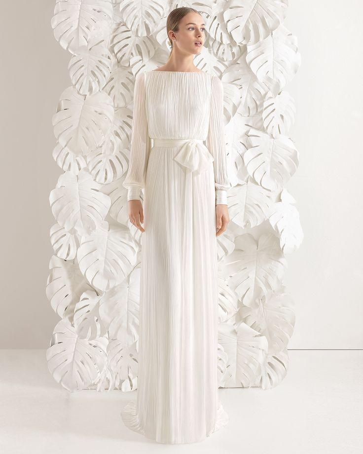 Necora vestido de novia Rosa Clará 2017