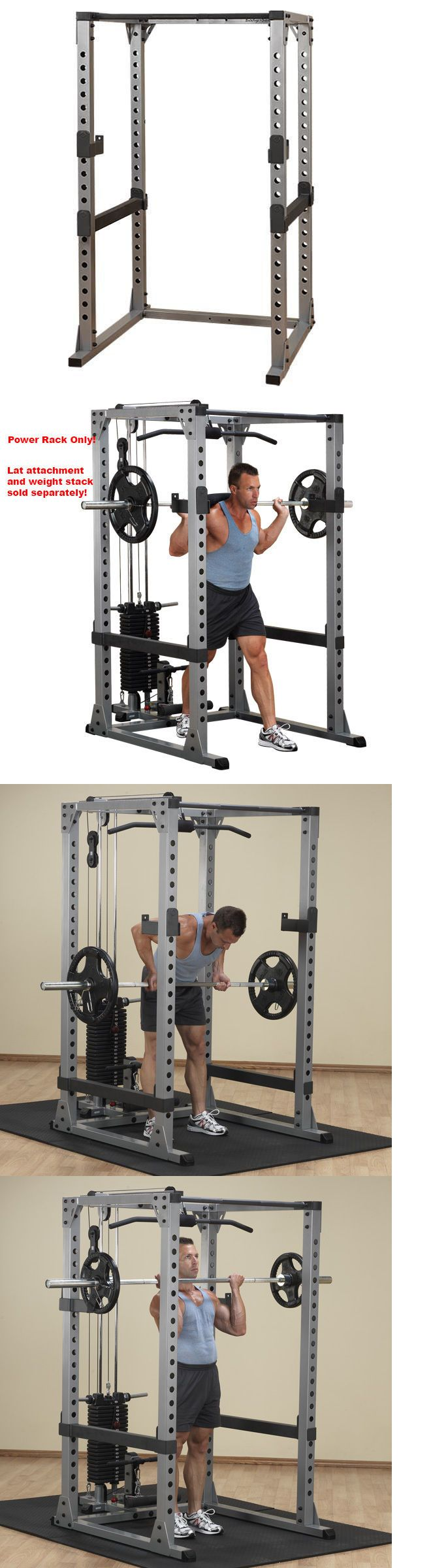 Power Racks and Smith Machines 179815: Body Solid Pro Power Rack - Gpr378 - New! BUY IT NOW ONLY: $595.0
