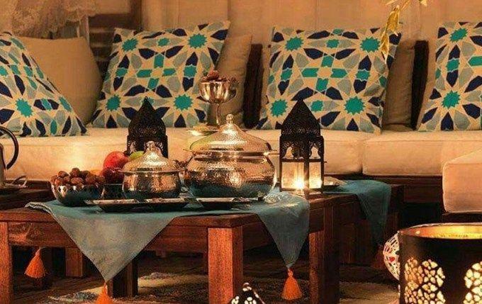 أفكار لتزيين المنزل بلمسة شرقية في رمضان Table Decorations Decor Home Decor