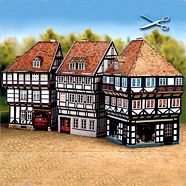 Paper Model website with lots of neat patterns for old buildings for sale