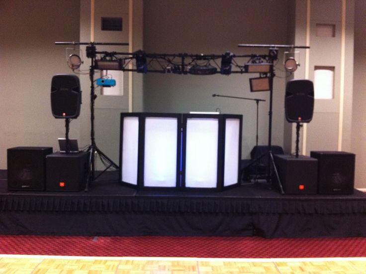 Portable Dj Booth Sjh Entertainment Mobile Dj Photo