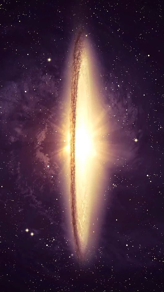 The Sombrero Galaxy (also known as Messier Object 104, M104 or NGC 4594) is an unbarred spiral galaxy in the constellation Virgo located approximately 28 million light-years (8.6 Mpc) from Earth.