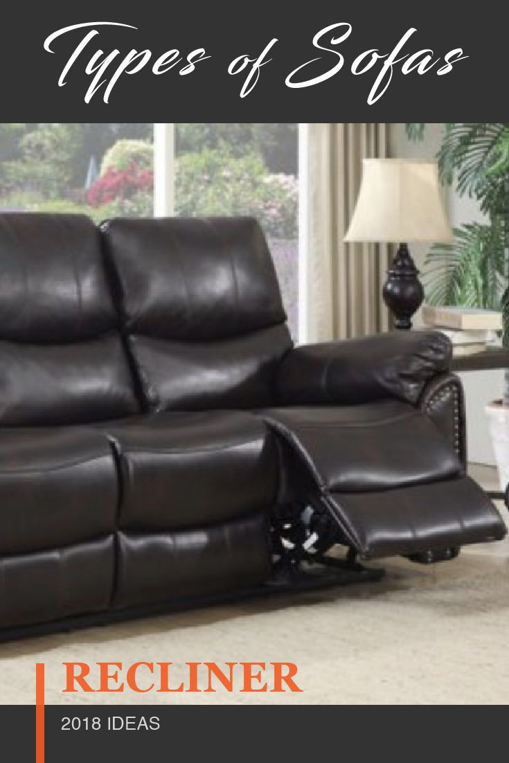 25 Styles Of Sofas Couches Explained With Photos Types Of Sofas Sofa Couch Reclining Sofa