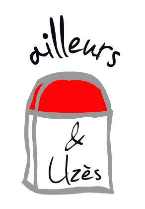 Ailleurs et Uzès : Création du logo et de la charte graphique du site. http://www.ailleurs-et-uzes.fr