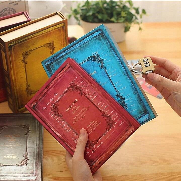 """/""""Magic Book/"""" 1pc Journal Diary Big Loose Leaf Notebook Coil Lined Papers Planner"""