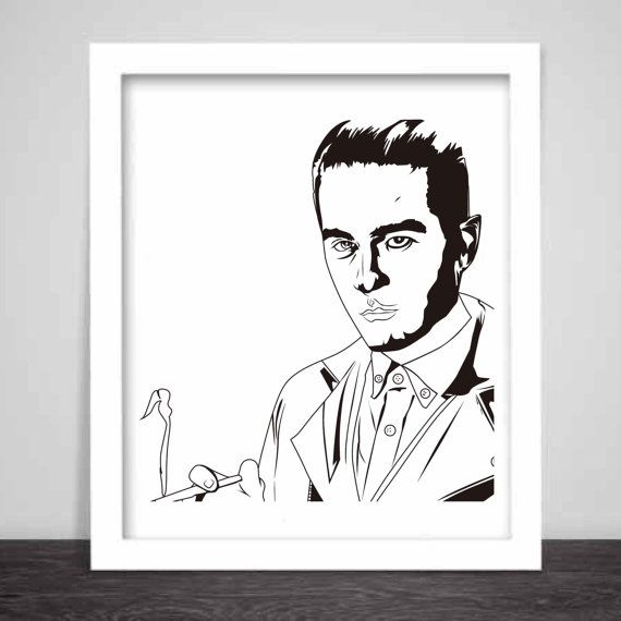 G-Eazy Art Poster 3 sizes 2 // Geazy Young Gerald I by BabesnGents