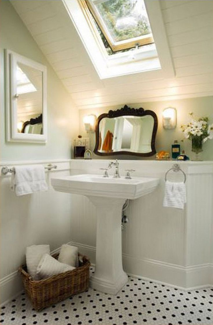 small attic bathroom pinterest - 25 best ideas about Attic bathroom on Pinterest