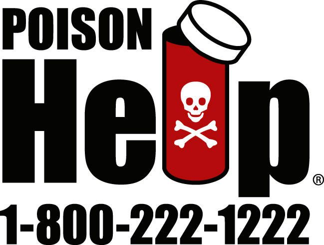 Keep the number for the American Association of Poison Control Centers on your fridge! 1-800-222-1222